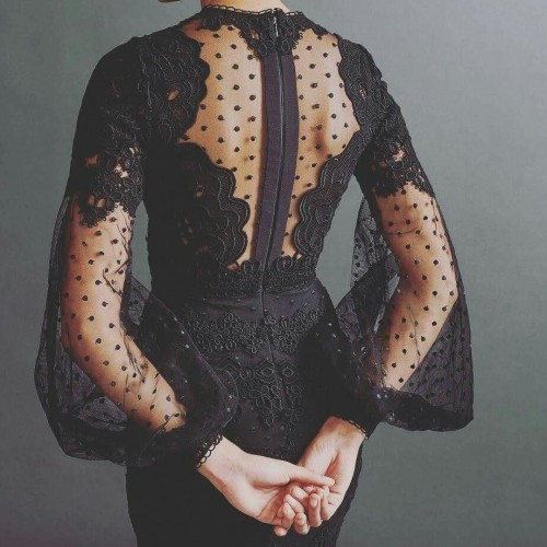 looking for the same black mesh dress or something similar. - SeenIt