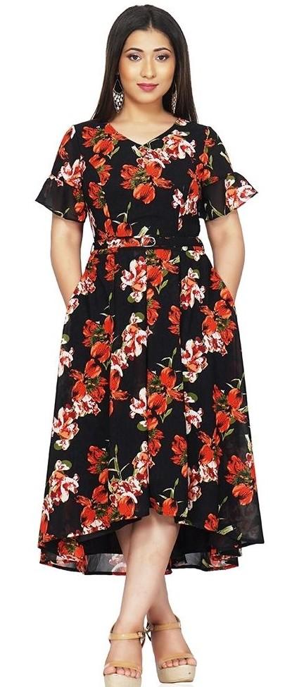 Want similar floral midi  dresses - SeenIt