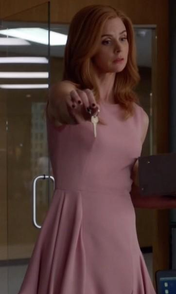 Looking for a similar skater dress online like Donna Paulsen is wearing in Suits - SeenIt
