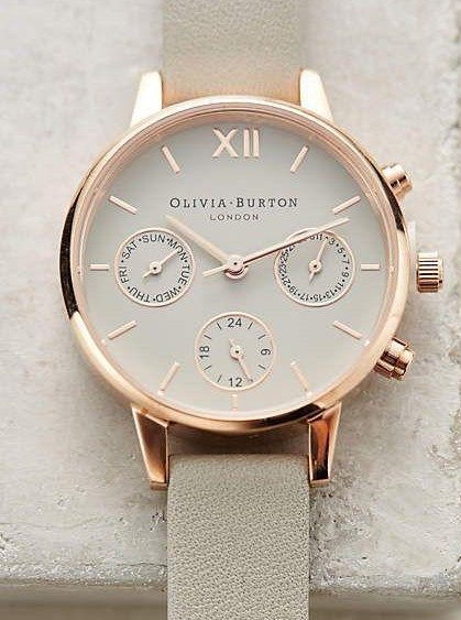 looking for similar white and golden strap watch - SeenIt