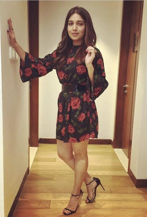 de16c7858cda Looking for a similar dress online like Bhumi Padnekar is wearing at the  promotions of her