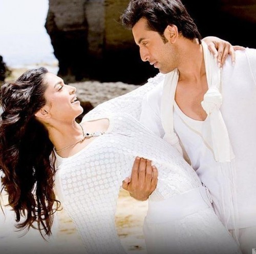 Want a similar white sequinned maxi dress like the one which Deepika Padukone is wearing  in bachna ae haseeno - SeenIt
