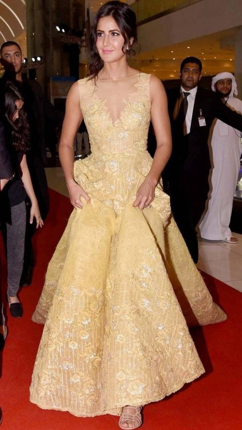 Want a similar floor sweeping gown like the one which Katrina Kaif is wearing - SeenIt