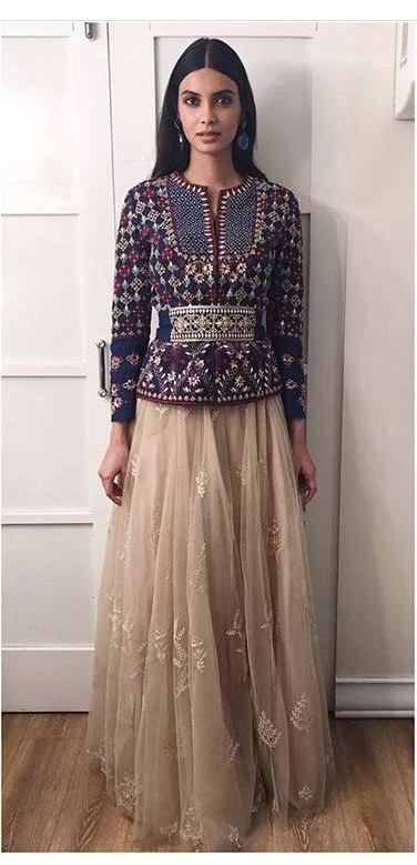 2777a34abe Diana Penty spotted wearing an Anita Dongre outfit at the promotions of