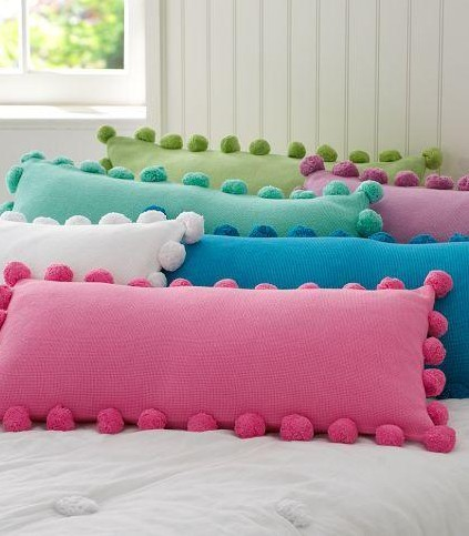 Where can I find pompom cushion covers like these? - SeenIt