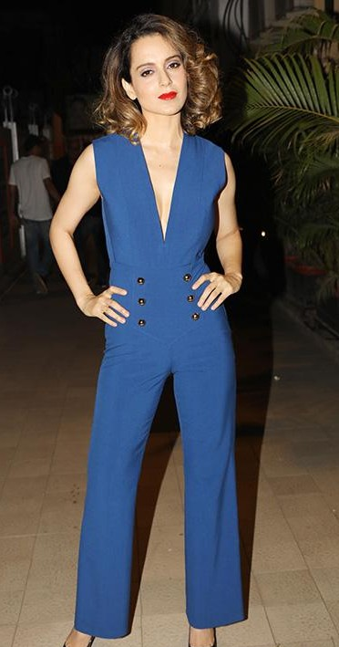 914b809eae0d Looking for a similar jumpsuit online like Kangana Ranaut is wearing at the  wrap up of
