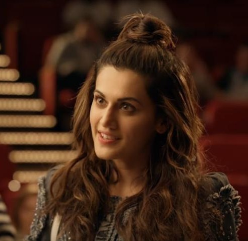 need a similar nude peach lip shade like taapsee pannu is wearing in judwaa 2 - SeenIt