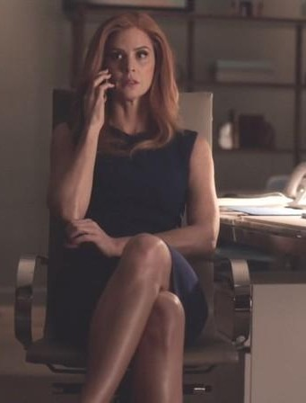 Looking for a similar black bodycon dress like donna is wearing in suits season 7 - SeenIt