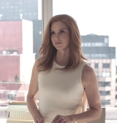 need a similar white dress like donna is wearing in suits season 7 this time - SeenIt