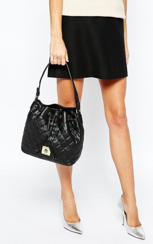 Looking for a similar black quilted bucket bag - SeenIt