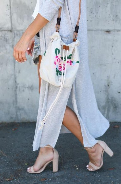 Looking for similar white embroidered bucket bag - SeenIt