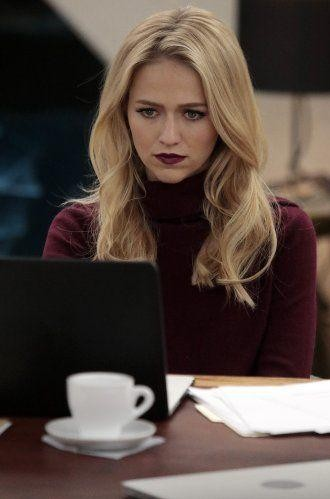 Looking for similar maroon lipstick that Johanna Braddy is wearing - SeenIt