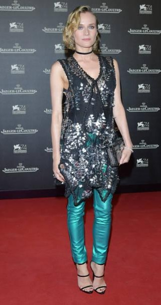 Yay or Nay? Diane Kruger attends the Jaeger-LeCoultre Gala Dinner during the 74th Venice International Film Festival at Arsenale on September 5, 2017 - SeenIt