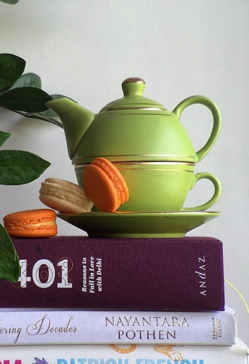Looking for this green tea pot. Any idea where to find it? - SeenIt