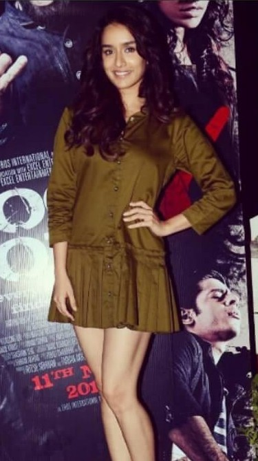 Looking for the similar green dress that Shraddha Kapoor is wearing - SeenIt