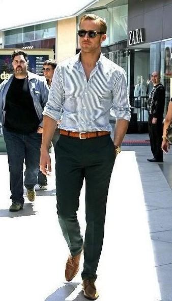 Shop Dwaynejohnson Belt Outfit Pants Shirt Shoes On Seenit 29113