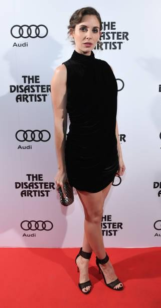 Yay or Nay?  Alison Brie wearing a black velvet short dress attends Pre-Screening Event For 'The Disaster Artist' during The Toronto International Film Festival - SeenIt