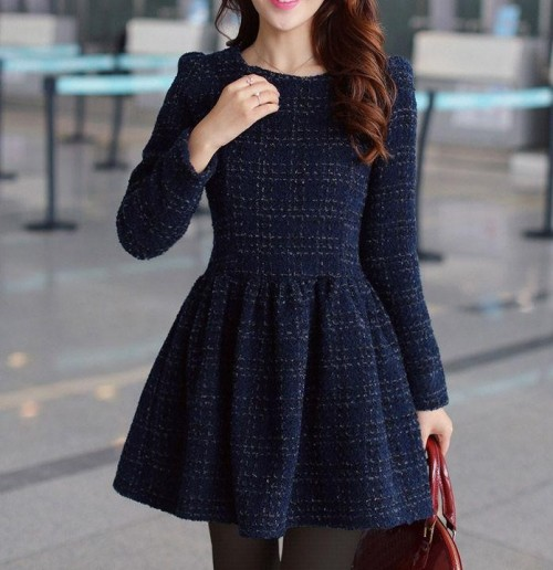 Want a similar navy tweed short dress - SeenIt