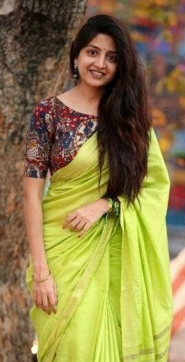 Looking for a similar saree and blouse - SeenIt