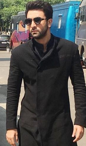 looking for same black kurta which Ranbir Kapoor is wearing for Ae Dil Hai Mushkil promotions - SeenIt