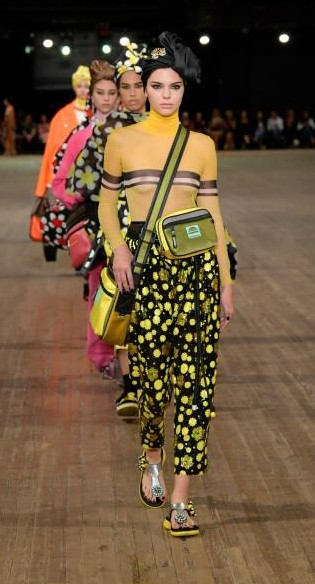 Yay or Nay? Kendall Jenner walks the runway for Marc Jacobs SS18 fashion show during New York Fashion Week - SeenIt