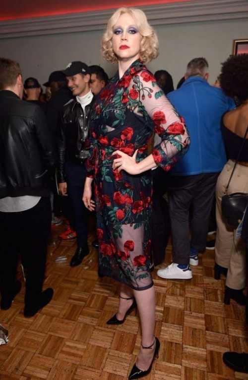 Yay or Nay? Gwendoline Christie attends the Pat Mc Grath Paths Mothership Ball during the New York Fashion Week - SeenIt