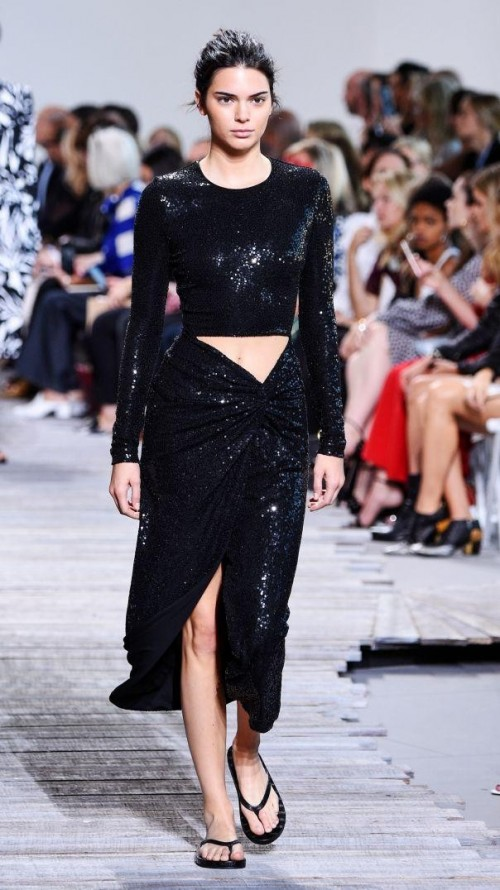 945cbdcc196c Check out your fave celebrities and their looks at the New York Fashion  Week Spring Summer 2018.