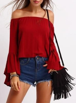 Looking for the red offshoulder with bellsleeves top - SeenIt