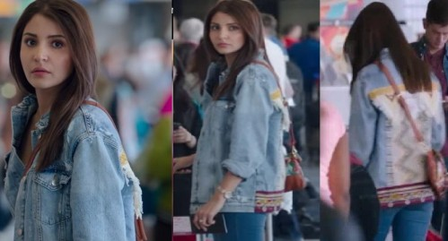I'am looking for a similar denim jacket which Anushka Sharma is wearing in jab harry met sejal - SeenIt