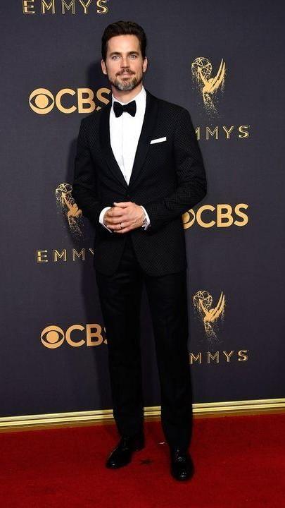 Yay or Nay? Matt Bomer wearing a classic black tuxedo at the Emmy awards last night - SeenIt