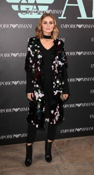 Yay or Nay? Olivia Palermo attends the Emporio Armani show during London Fashion Week - SeenIt