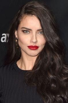 Looking for the red lipstick that Adriana Lima is wearing - SeenIt