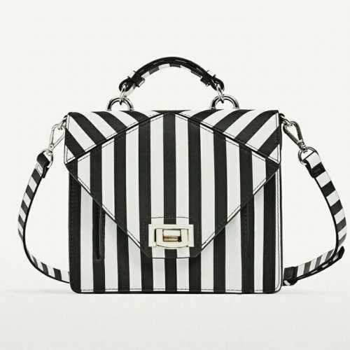 Looking for this exact monochrome striped  bag. I know it's previous collection but if anyone knows where I can get it, please let me know! TIA.  😘😍 - SeenIt