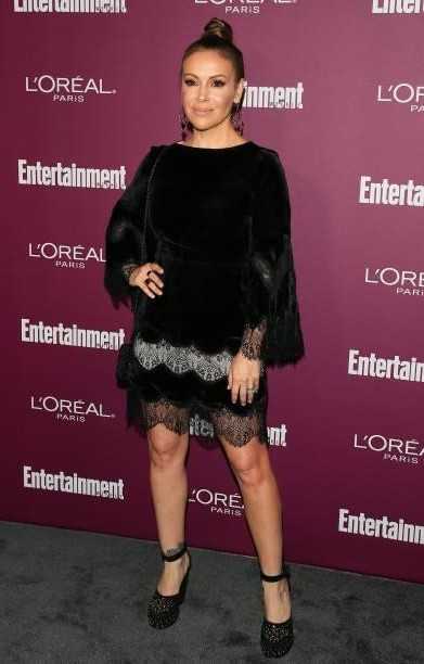 Yay or Nay? Alyssa Milano attends the 2017 Entertainment Weekly Pre-Emmy Party at Sunset Tower - SeenIt