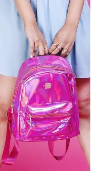 I'm looking for something a similar pink backpack  in India - SeenIt