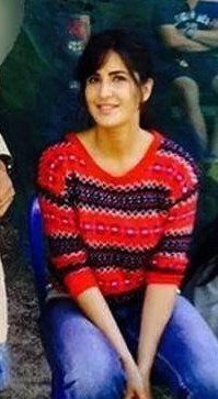 i'm looking for similar red striped sweater like the one which Katrina Kaif is wearing while shooting for Jagga Jasoos - SeenIt