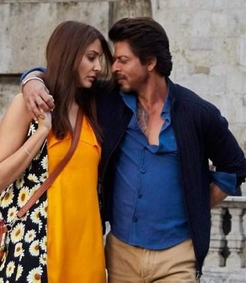 I am looking for same blue shirt and beige trousers which Shahrukh Khan is wearing in jab harry met sejal - SeenIt