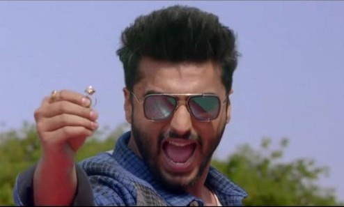 I am looking for these reflective sunglasses which Arjun Kapoor is wearing - SeenIt
