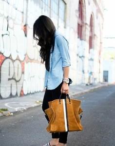Looking for a similar brown tote bag. - SeenIt