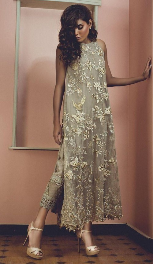 finding this sequin traditional suit in golden nude colour - SeenIt
