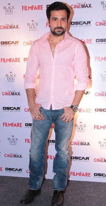 Looking for this pink shirt with blue jeans like Emraan Hashmi - SeenIt