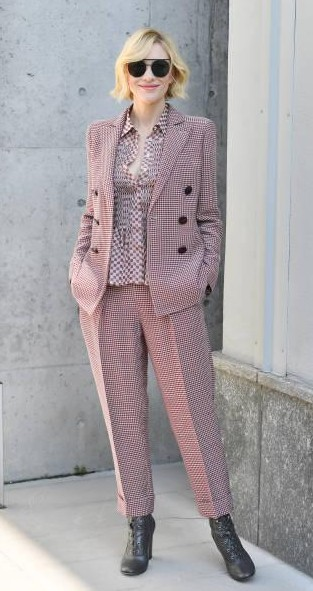 Yay or Nay? Cate Blanchett attends the Giorgio Armani show during Milan Fashion Week - SeenIt