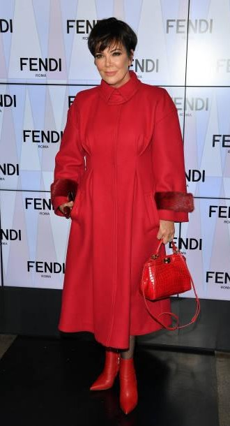 Yay or Nay? Kris Jenner attends the Fendi show during Milan Fashion Week - SeenIt