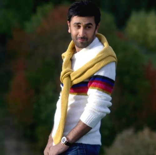 I am looking for similar white with single red or blue striped sweater which Ranbir Kapoor is wearing in ae dil hai mushkil - SeenIt