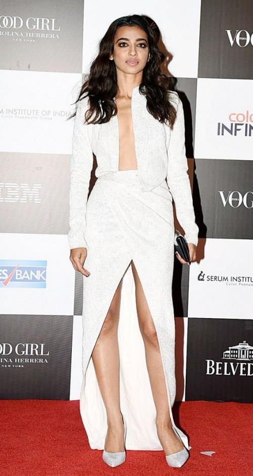 Yay or Nay? Radhika Apte wearing a white coordinate set at the Vogue Women of the Year awards last night - SeenIt