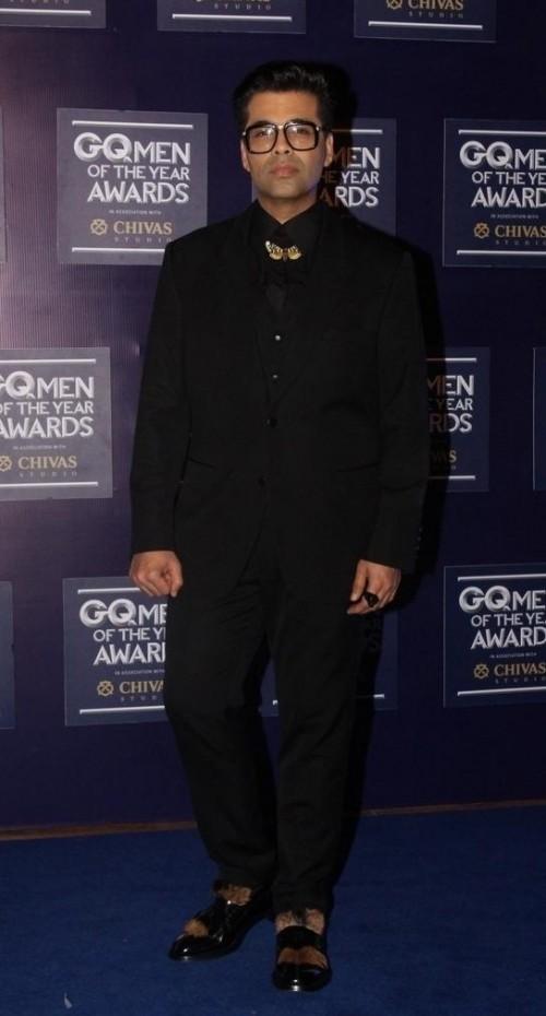 Yay or Nay? Karan Johar attends the GQ Men of the year awards 2017 - SeenIt