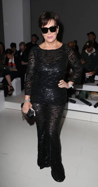 Yay or Nay? Kris Jenner attends the Versace show during Milan Fashion Week - SeenIt