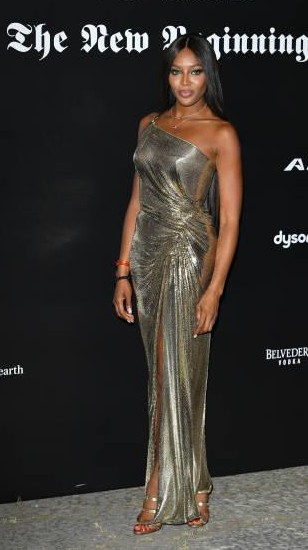 Yay or Nay? Naomi Campbell attends the Vogue Italia 'The New Beginning' Party during Milan Fashion Week - SeenIt