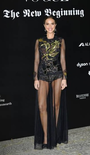 Yay or Nay? Arielle Kebbel attends theVogue Italia 'The New Beginning' Party during Milan Fashion Week - SeenIt