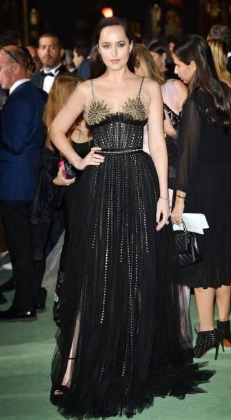 Yay or Nay? Dakota Johnson attends the Green Carpet Fashion Awards Italia 2017 during Milan Fashion Week - SeenIt